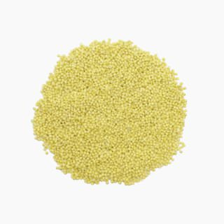 Proso millet (milled grain, raw)