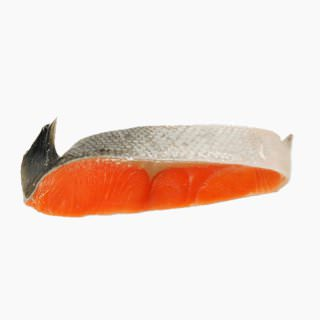 Coho salmon (cultured, raw)