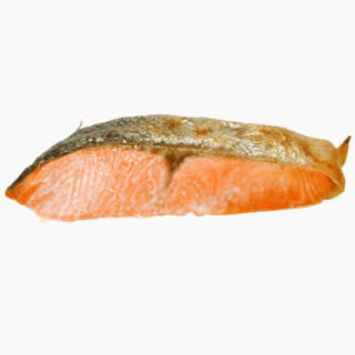 Coho salmon (cultured, baked)