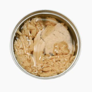 Tuna, Canned product (flaked white meat in oil)