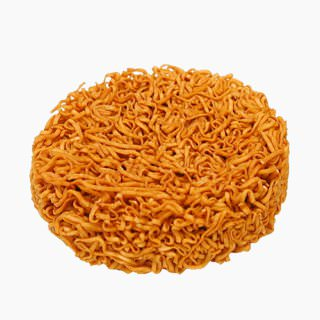 Precooked Chinese noodles (dried by frying, seasoned)
