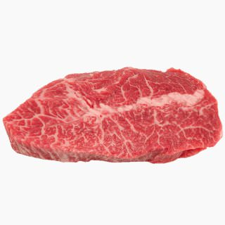 Cattle, Beef, Japanese beef cattle (chuck loin, without subcutaneous fat,raw)