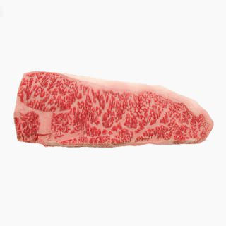 Cattle, Beef, Japanese beef cattle (sirloin, lean and fat, raw)