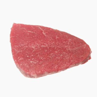 Cattle, Beef, Japanese beef cattle (inside round, without subcutaneous fat,raw)