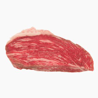 Cattle, Beef, Japanese beef cattle (rump, lean and fat, raw)