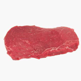 Cattle, Beef, dairy fattened steer (outside round, lean, raw)