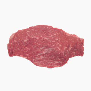 Cattle, Imported beef (chuck loin, lean, raw)