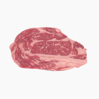Cattle, Imported beef (rib loin, without subcutaneous fat, raw)