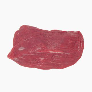 Cattle, Imported beef (inside round, without subcutaneous fat, raw)