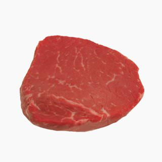 Cattle, Imported beef (rump, without subcutaneous fat, raw)