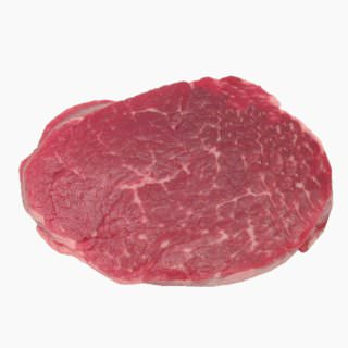 Cattle, Imported beef (fillet, lean, raw)
