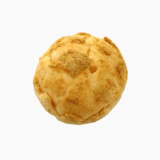 Custard cream puff