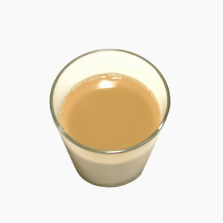 Soy milk (drink type, coffee flavored)