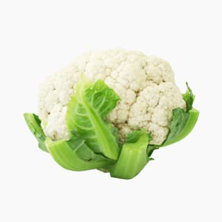 Cauliflower (inflorescence, boiled)