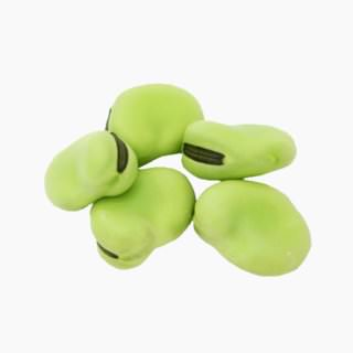Broad bean (immature beans, boiled)