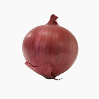 Red onion (bulb, raw)