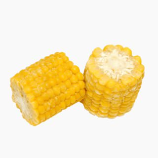 Sweet corn (immature kernels on cob, frozen)