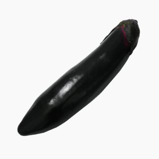 Eggplant (fruit, raw)
