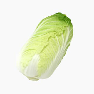 Chinese cabbage (head, raw)