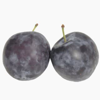 European plums (raw)